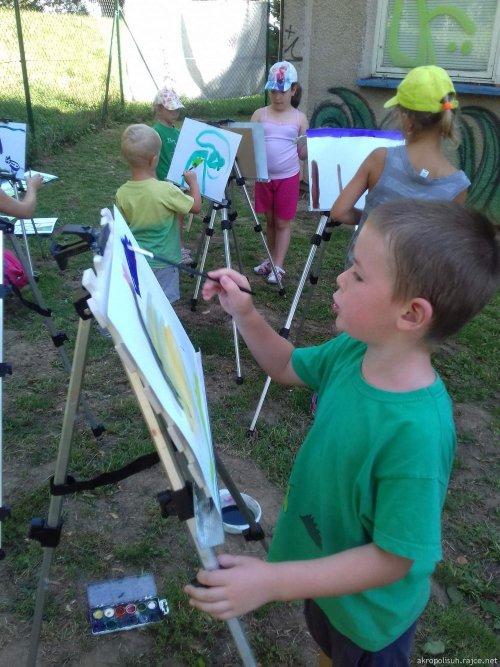Tábor - Týden s malíři