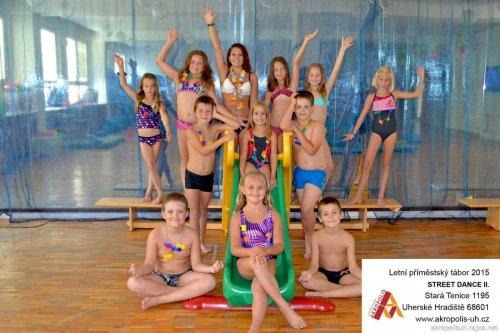 Street dance - Šmoulové útočí - pro děti 7 - 10 let