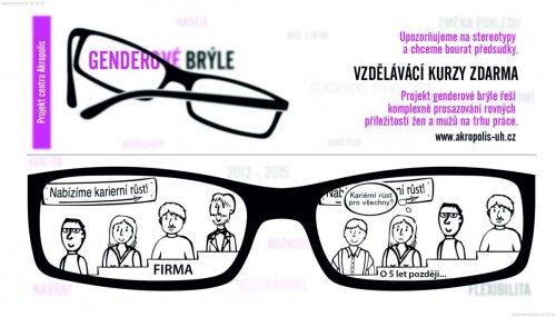 Potřebujeme genderové brýle?