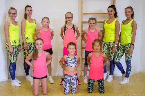 Tábor - Aerobik fitness kategorie KIDS a KADET     (5. - 9. 8. 2019)