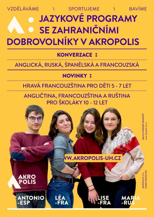 Jazykové programy v Akropolis