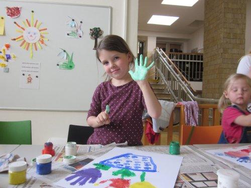 Výtvarka pro děti 3 - 6  - grafomotorický rozvoj pro děti s rodiči - Malý Picasso