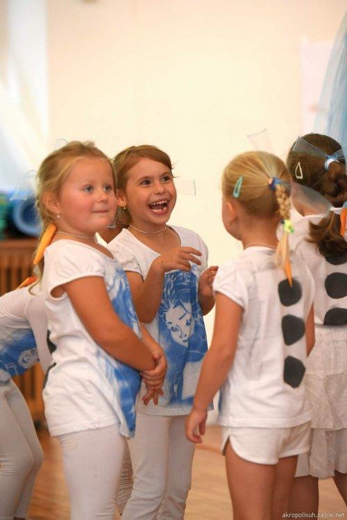 V peřině - aerobik pro děti 5 - 7 let