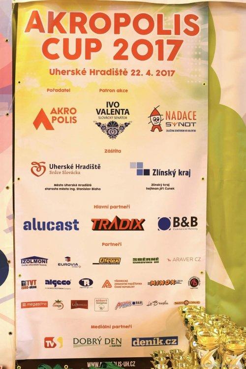 AKROPOLIS CUP UH.HRADIŠTĚ 2017-skupiny