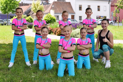 Fitness aerobik KIDS 8-10 let
